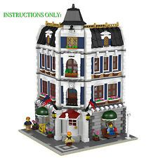 LEGO Modular Coffee Shop & Library INSTRUCTIONS ONLY!!! 10182 10185 10232 10243