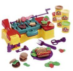 Playdo BBQ set. Good enough to eat...