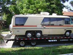 Mechanical Work Gmc Motors, Gmc Motorhome, Motor Works, Rv Travel, Go Camping, Recreational Vehicles, Van, Homes, Restore