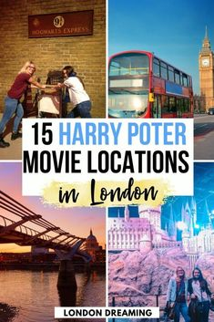 If you're a Harry Potter fan, you will love visiting London. The city was used as set for the movie series on multiple occasions, and you can easily visit all the Harry Potter filming locations in London. If you're looking for all the spots where you favourite Harry Potter heroes stood, this is the guide for you! Discover all the London locations where Harry Potter was filmed with this ultimate guide! #london #harrypotter #harrypotterinlondon #uk #europe
