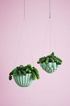 Beautiful ceramic jelly mould hanging pot