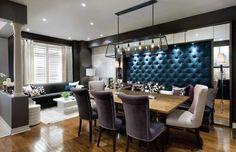 Hay comedores que resultan muy elegantes. Los de la siguiente entrada del blog son una invitación a obtener ideas asombrosas: http://www.decoraciondeinteriores10.com/ambientes/hermosa-decoracion-de-interiores-de-comedores/