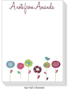 Personalized Notepads for everyone!