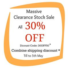 All 30% OFF Massive Clearance Stock Sale  Combine by yooounique