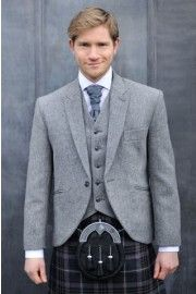 Lomond Tweed Kilt Jacket. V Nice
