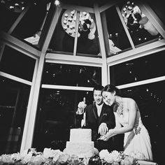 great vancouver wedding In 2016, may you have your cake and eat it, too!  #jonetsustudios @vancouverclub #luxurywedding #engaged #cakecutting #blackandwhite #lovetheseguys by @jonetsustudios  #vancouverengagement #vancouverwedding #vancouverweddingcake #vancouverweddingvenue #vancouverwedding