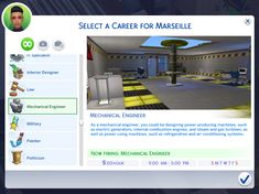 """midnitetech: """" Simple 9-5 Career Pack I bring you a whole pack of rabbithole careers! These are all simple 9-5 jobs paying §20 per hour Monday to Friday and you get 11. You can download all or..."""