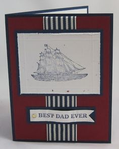 Crooked Stamper's Blog: Father's Day Card