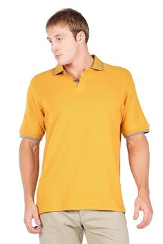 TexereSilk Men's Short Sleeve Polo Shirt Oxford Horn Buttons GOLDEN GLOW XL. This will become his favorite shirt whether for work or leisure wear! This luxurious golf shirt is more absorbent, odor resistant, hypoallergenic and eco-friendly compared to the ordinary golf polo! | eBay!