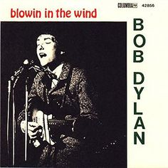 "Bob Dylan, 'Blowin' in the Wind' ~ Writer: Dylan Producer: John Hammond; Released: May '63, Columbia, Did not chart ~  ""Blowin' in the Wind"" was Dylan's first important composition. It is also the most famous protest song ever written. Dylan framed the crises around him in a series of fierce, poetic questions that addressed what he believed was man's greatest inhumanity to man: indifference. ""Some of the biggest criminals are those that turn their heads away when they see wrong,"""