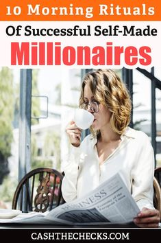 10 Self Made Millionaires Share Their Morning Rituals – TOP 5 Habit Building Tips Self Made Millionaire, Habits Of Successful People, Morning Ritual, Richard Branson, Life Choices, Good Habits, Why People, Oprah Winfrey, Positive Mindset