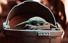 random gifs — Baby Yoda for You are in the right place about baby yoda shirt Here we offer you the most beautiful pictures about the baby yoda lego you are looking for. When you examine the random gifs — Baby Yoda for part of the picture you[. Yoda Gif, Yoda Meme, Happy New Year Baby, Yoda Quotes, Star Wars Baby, Baby Groot, Mandalorian, Disney Animation, Clone Wars