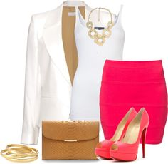 """""""pink and gold #2"""" by lulu-belle-love on Polyvore"""