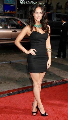 Megan Fox Body, Megan Fox Hair, Megan Denise Fox, Sexy Outfits, Sexy Dresses, Megan Fox Pictures, Mini Robes, Femmes Les Plus Sexy, Sexy Legs And Heels