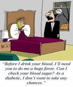 Diabetic humor