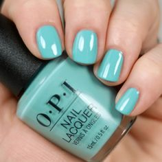 OPI Closer Than You Might Belem (opi teal nail polish) Teal Nail Polish, Opi Nail Colors, Teal Nails, Opi Nails, Nail Manicure, Nail Colour, Polish Nails, Manicure Ideas, Nail Ideas