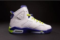 quality design f2e67 465c1 Authentic Air Jordan 6 White Grape Running shoes basketball shoes