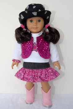 American Girl 18 inch Doll Clothes White by TwirlyGirlDollDesign, $29.99