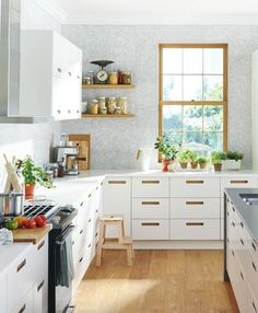 Shared from Flipp: SEKTION/MÄRSTA white kitchen in the IKEA flyer