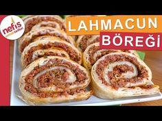 Hazır Yufkadan Lahmacun Böreği Tarifi – Nefis Yemek Tarifleri