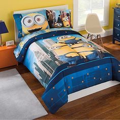 Minions 6Piece Reversible Bed Set Full >>> Click on the image for additional details.