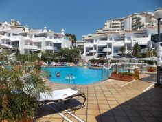 Enjoy a cooling dip in the swimming pool of the Sahara Sunset Club in Malaga on the Costa Del Sol. #Sunset #Spain #Timeshare. http://www.timeshare-hypermarket.com/sahara-sunset-club.aspx