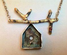 birdhouse jewelry