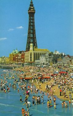 Blackpool, England (from John Hinde Collection)