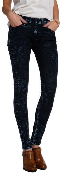 Rag & Bone Acid Wash Jean in Black (ACID) | Lyst