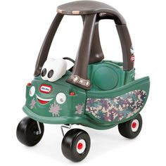 Little Tikes Cozy Coupe Off-Roader Ride-On, Camo - Most Wanted Christmas Toys Little Tikes, Cozy Coupe Makeover, Camouflage, Offroader, Ride On Toys, Kids Ride On, Toys For Boys, Kids And Parenting, Baby Shower Gifts