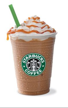 Starbucks Carmel Frapachino:   ~3/4 cup coffee ~3 tbs sugar ~1 cup milk ~3 tbls. Hershey chocolate  ~3 or more tbls of Carmel  ~2 cups ice  Blend 1st 5 ingredients, then add and blend ice… enjoy