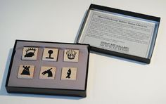 Marcel Duchamp - Stamp Chess Set - for playing via mail