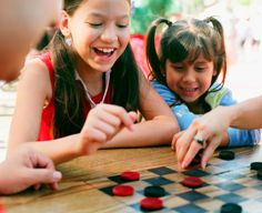 """Checkers and Don't Break the Ice Twister."""" -Teri Meredith"""