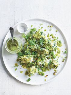 pea, spinach and ricotta gnocchi from donna hay Fresh + Light issue #2