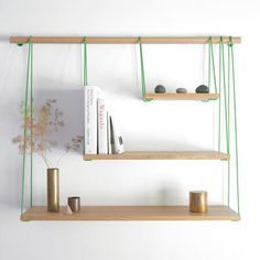 In love with this shelving unit!!  By: Outofstock : Bridge Shelves