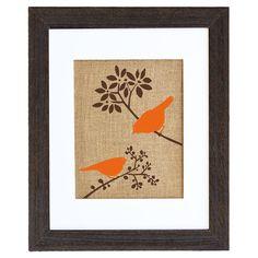 Autumn Birds Framed Print at Joss and Main