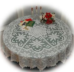 Ravelry: Snow Fields Tablecloth pattern by Kathryn White