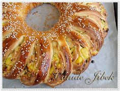 Turkish Kitchen, Savory Pastry, Middle Eastern Recipes, Bagel, Doughnut, Sausage, Food And Drink, Cooking Recipes, Favorite Recipes