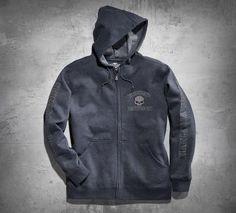 Hooded Skull Sweatshirt - 99022-17VM