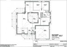 Photo ce sont les plans de la maison carr e avec un pat - Plan maison avec patio ...