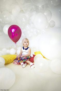 Воздушные шары и дети