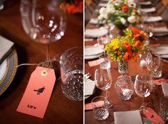 Orange wedding theme!