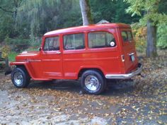 1955 Willys Jeep Utility Wagon