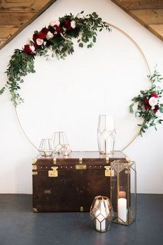 Chic Geometric Wedding Ideas for 2018 Trends - Page 4 of 6 : boho wedding backdrop decoration ideas with geometric lanterns Wedding Wall Decorations, Wedding Lanterns, Backdrop Decorations, Backdrops, Background Decoration, Backdrop Design, Chic Wedding, Wedding Trends, Wedding Designs