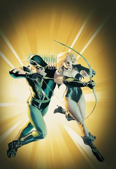 GREEN ARROW/BLACK CANARY: FOR BETTER OR WORSE, by Alex Ross.