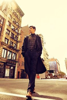 A New York State of Mind. Photo by Arnaldo Anaya-Lucca. Styling by Grant Pearce. For GQ Japan.  menswear mnswr mens style mens fashion fashion style editorial
