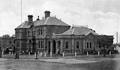 Footscray Town Hall at 61 Napier St,Footscray,Victoria in the early Melbourne Victoria, Victoria Australia, Old Pictures, Old Photos, Melbourne Suburbs, Australian Continent, Australian Architecture, Largest Countries, Town Hall