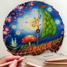 Johanna Basford | Colouring Gallery | Inspirational Coloring Pages by @colorvscolours #inspiração #coloringbooks #livrosdecolorir #jardimsecreto #secretgarden #florestaencantada #enchantedforest #reinoanimal #animalkingdom #adultcoloring #johannabasford #milliemarotta