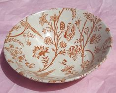 A bowl from the Laura Ashley Oriental Garden range  manufactured by Johnson Brothers in England