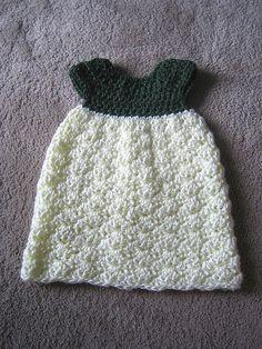 Bev's Pretty Preemie Dress by Beverly A. Qualheim - free pattern on Ravelry Preemie Crochet, Baby Girl Crochet, Free Crochet, Knit Crochet, Crochet Scarfs, Crochet Things, Crochet Dresses, Knitted Baby, Baby Patterns